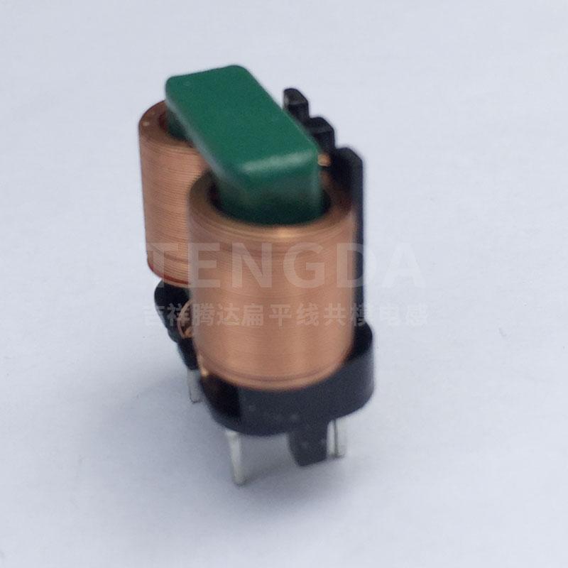 TD1012立式超薄骨架 TD扁平线共模电感