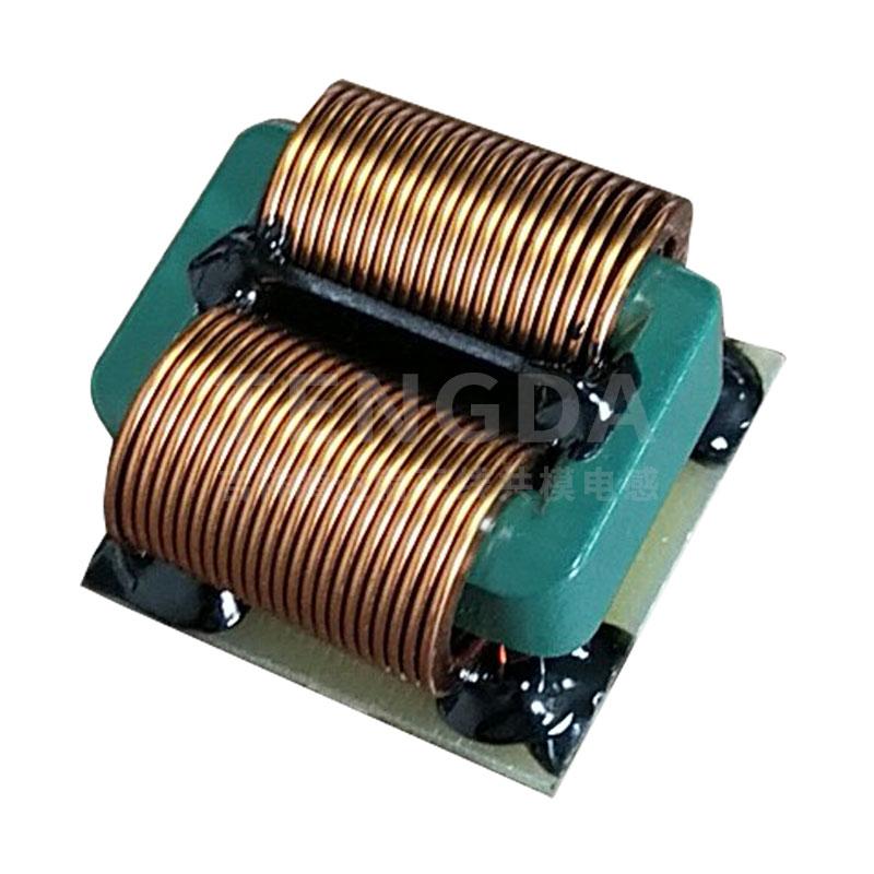 TD3224卧式SQ扁平线共模电感
